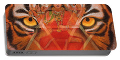 Goddess Durga Portable Battery Charger
