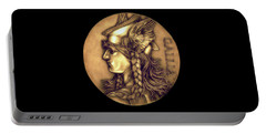 Goddess Of Gaul Portable Battery Charger by Fred Larucci