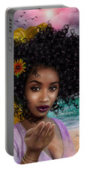 Goddess Oshun Portable Battery Charger
