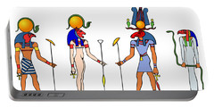 Gods And Goddess Of Ancient Egypt Portable Battery Charger
