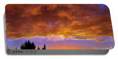 God's Artwork Portable Battery Charger by Gina Savage
