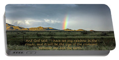 God's Covenant To The Earth Portable Battery Charger