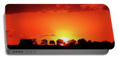 God's Gracful Sunset Portable Battery Charger