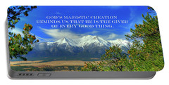God's Majestic Creation Portable Battery Charger