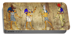 Gods Of Ancient Egypt Portable Battery Charger