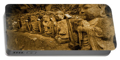 Portable Battery Charger featuring the photograph Gods Of Japan by Daniel Hagerman