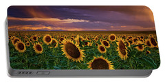 God's Painted Sky Portable Battery Charger