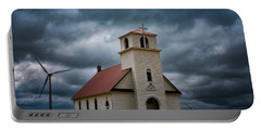 God's Storm Portable Battery Charger by Darren White