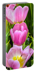 God's Tulips Portable Battery Charger