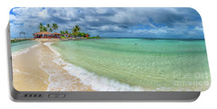 Goff's Caye Belize Pano Portable Battery Charger