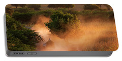 Portable Battery Charger featuring the photograph Going Home At Sunset by Pradeep Raja Prints