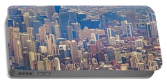 Going In For A Landing At #chicago Portable Battery Charger