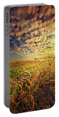 Going To Sleep Portable Battery Charger by Phil Koch