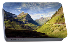 Portable Battery Charger featuring the photograph Going To The Sun 2 by Marty Koch
