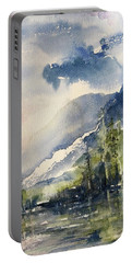 Going To The Sun Road Glacier National Park Montana Portable Battery Charger