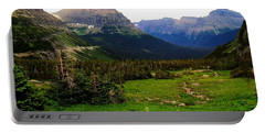 Going To The Sun Road Portable Battery Charger