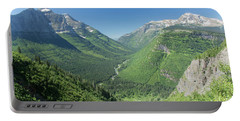 Going-to-the-sun Road Mountain Valley Portable Battery Charger