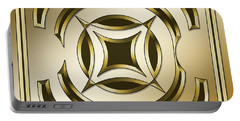Gold Coffee 1 - Chuck Staley Portable Battery Charger by Chuck Staley