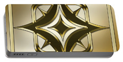 Gold Coffee 2 - Chuck Staley Portable Battery Charger by Chuck Staley