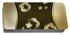 Gold Coffee 3 - Chuck Staley Portable Battery Charger by Chuck Staley