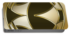 Gold Coffee 5 - Chuck Staley Portable Battery Charger by Chuck Staley