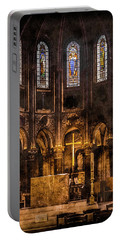 Paris, France - Gold Cross - St Germain Des Pres Portable Battery Charger