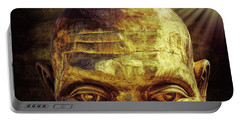 Gold Face Portable Battery Charger