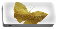 Gold Glam Butterfly Portable Battery Charger by P S