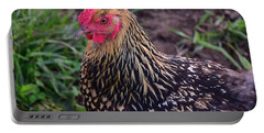 Gold Laced Wyandotte Portable Battery Charger