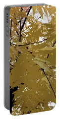 Golden Leaves Portable Battery Charger