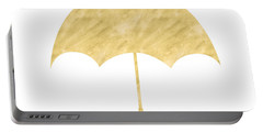 Gold Umbrella- Art By Linda Woods Portable Battery Charger by Linda Woods