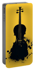 Gold Violin Portable Battery Charger