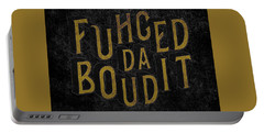 Goldblack Fuhgeddaboudit Portable Battery Charger