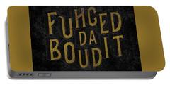 Goldblack Fuhgeddaboudit Portable Battery Charger