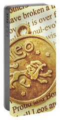 Golden Alignment In Leo Portable Battery Charger