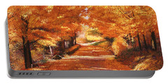 Golden Autumn Portable Battery Charger