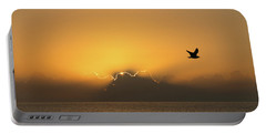 Golden Bird Sunrise Delray Beach Florida Portable Battery Charger