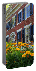 Golden Blooms At The Dahlonega Gold Museum Portable Battery Charger