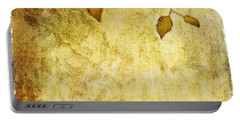 Golden Branch Of Hope  Portable Battery Charger