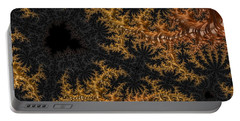 Golden Branching Moss Portable Battery Charger