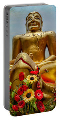 Flowers For Buddha  Portable Battery Charger