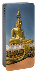 Golden Buddha Statue, Tiger Cave Temple Portable Battery Charger