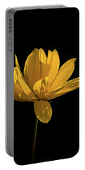 Golden Coreopsis Portable Battery Charger by Jacqi Elmslie