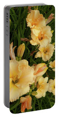 Golden Day Lilies Portable Battery Charger