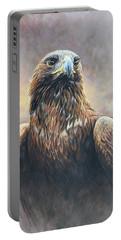 Golden Eagle Portrait Portable Battery Charger
