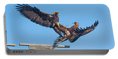 Golden Eagle Courtship Portable Battery Charger