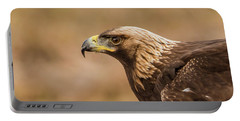 Golden Eagle's Portrait Portable Battery Charger by Torbjorn Swenelius