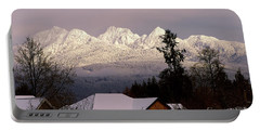 Portable Battery Charger featuring the photograph Golden Ears Mountain View by Sharon Talson