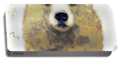 Golden Forest Bear Portable Battery Charger