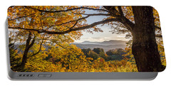 Vermont Framed In Gold Portable Battery Charger